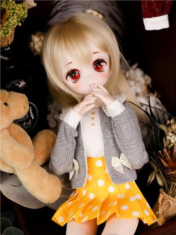 BJD Clothes Girl Cardigan+S...