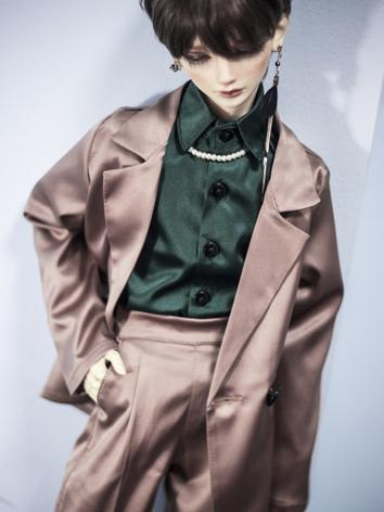 BJD Outfit 1/3 70cm Clothes Light Coffee Suit A300 for SD/70cm Size Ball-jointed Doll