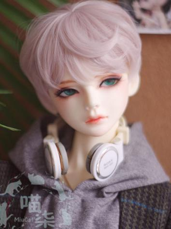 BJD Wig Boy Short Hair for SD/MSD Size Ball-jointed Doll