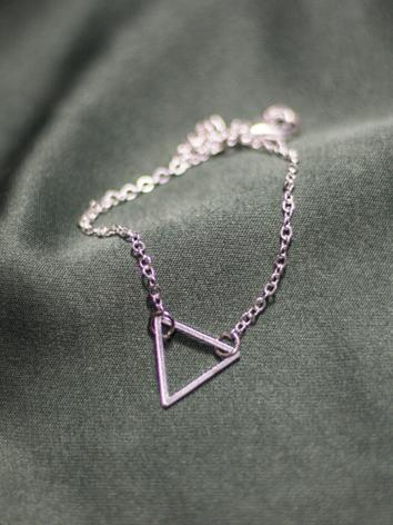 BJD Triangle Necklace A028 ...