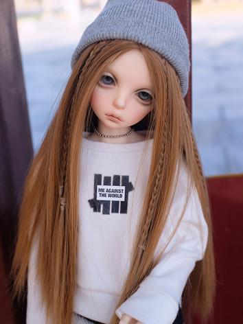 BJD Wig Girl Choclate/Brown...