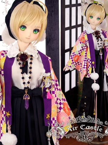 BJD Clothes Girl Kimono Outfits Fit for DD/SD size Ball-jointed Doll