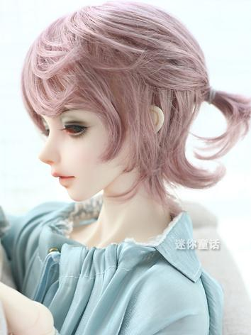 BJD Wig Boy Short Hair 1/3 1/4 1/6 Wig for SD/MSD/YSD Size Ball-jointed Doll