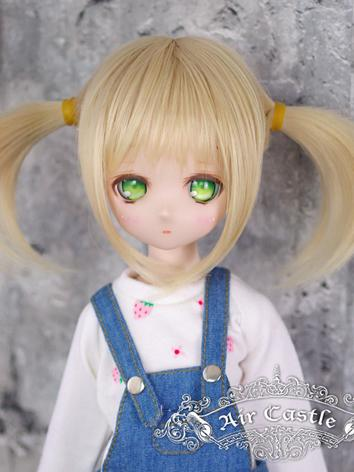 BJD Wig Girl Gold Hair for SD Size Ball-jointed Doll
