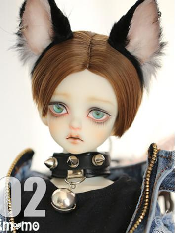 1/3 Wig Boy/Girl Brown Short HAIRH02 for SD/70cm Size Ball-jointed Doll