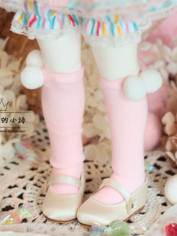 BJD Clothes Pink Socks for ...