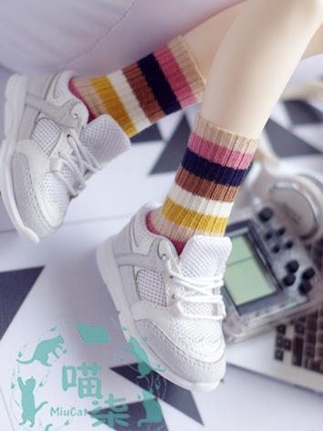 BJD Clothes Color Socks for...