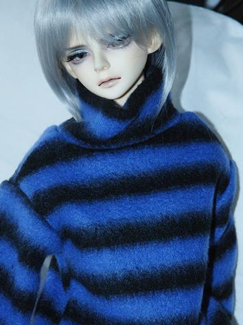 BJD Clothes Boy/Girl Blue/Orange/Grey/Yellow/White Sweater for YOSD/MSD/SD10/SD17 size Ball-jointed Doll