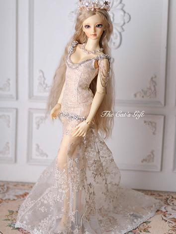 BJD Clothes Girl Silver Wes...