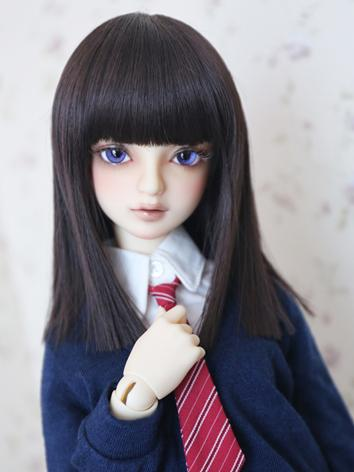 BJD Girl/Boy Long Hair wig ...