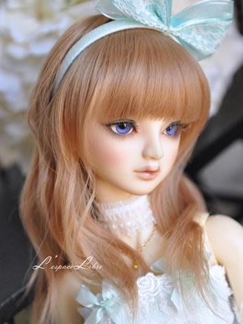 BJD Girl/Boy Long Curly Hai...
