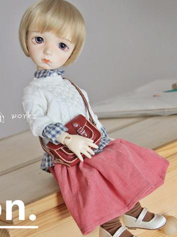 BJD Clothes 1/6 Girl White/Brown/Pink/Orange/Yellow Skirt for YOSD Ball-jointed Doll