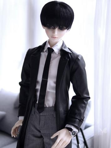 BJD Clothes Boy Black Warm ...