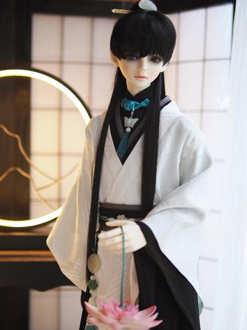 BJD Clothes White Ancient M...