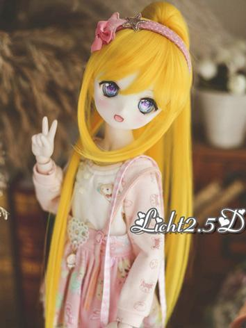 BJD Wig Boy/Girl Yellow Hair[-NO.186-] for SD Size Ball-jointed Doll
