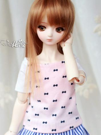 BJD Clothes Girl T-shirt for MSD Ball-jointed Doll
