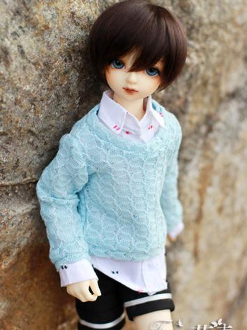 BJD Clothes Boy Sweater Shirt and shorts for MSD Ball-jointed Doll