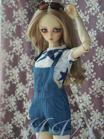 BJD Clothes Girl Suspender Trousers for SD Ball-jointed Doll