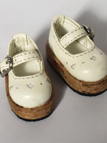 BJD Shoes Girl Beige Shoes ...