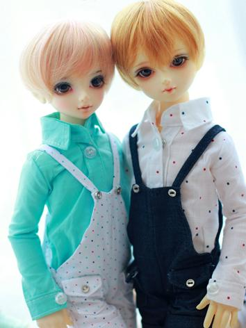 BJD Clothes Boy Dark Blue S...