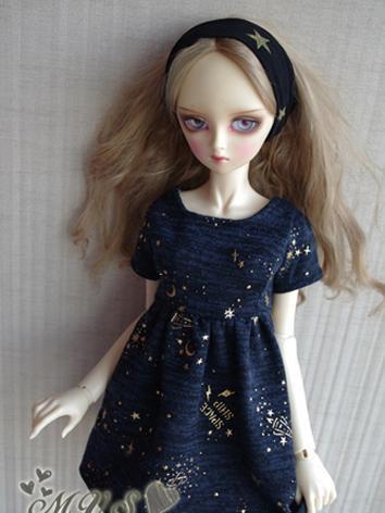 BJD Clothes Girl Dark Blue ...