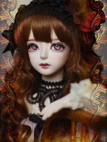 BJD Head Rebecca-head Ball-...