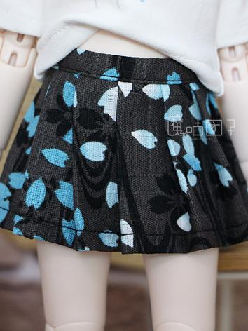 BJD Clothes Black Skirt for...