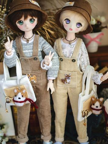 BJD Clothes Boy Suspender T...