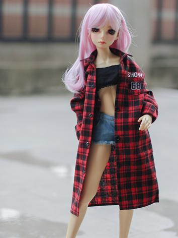 BJD Clothes Girl/Boy Red/Gr...