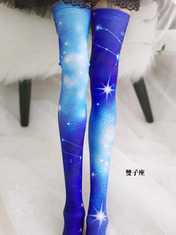 Bjd Socks Lady Blue High St...