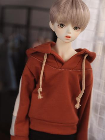 Bjd Clothes Boy Pink/Red Ho...