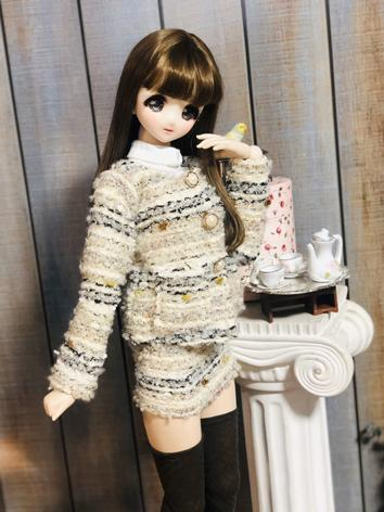 1/3 Girl Clothes Coat Skirt...