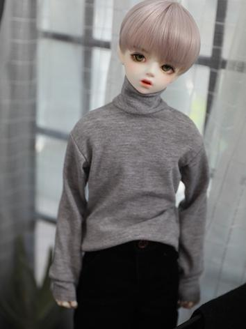Bjd Clothes Boy High-neck T-shirt for SD10/SD13/SD17 Ball-jointed Doll