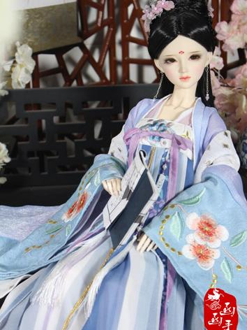 1/3 Clothes Girl Ancient Dress Outfit for SD size Ball-jointed Doll