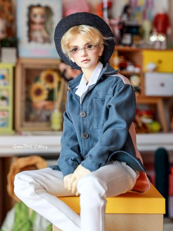 BJD Clothes Boy Black/Beige...