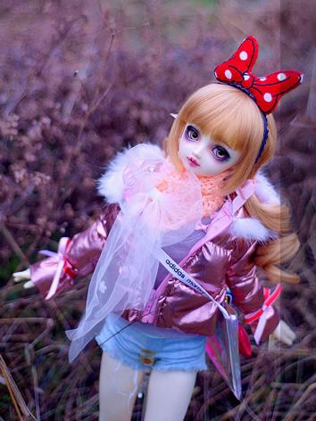 BJD Clothes Boy/Girl Pink C...