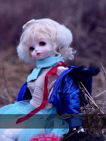 BJD Clothes Boy/Girl Blue C...
