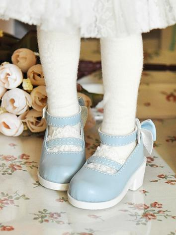 Bjd Shoes Female Blue Cute ...