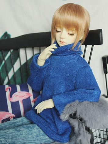 BJD Clothes Boy/Girl Blue H...