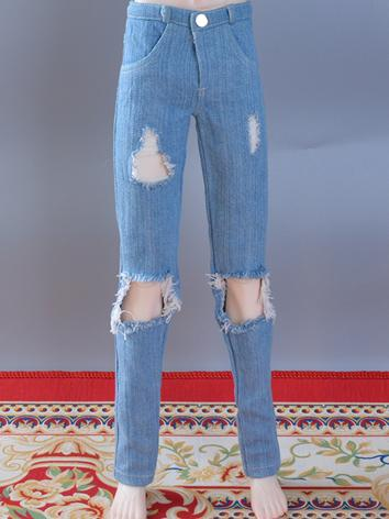 BJD Clothes Boy/Girl Jeans Trousers for MSD/SD/70cm Size Ball-jointed Doll