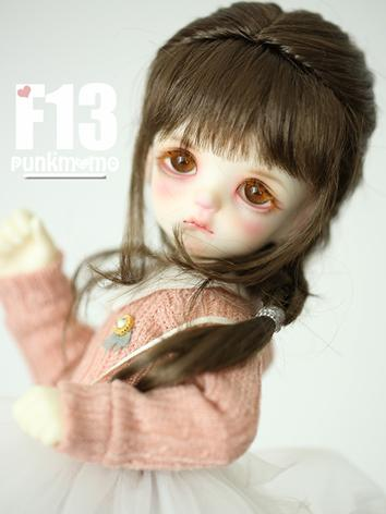 1/3 Wig Brown Long Hair F13 for SD Size Ball-jointed Doll