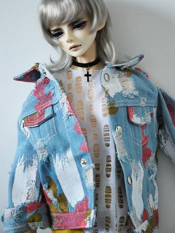 BJD Clothes Boy Jeans Coat ...