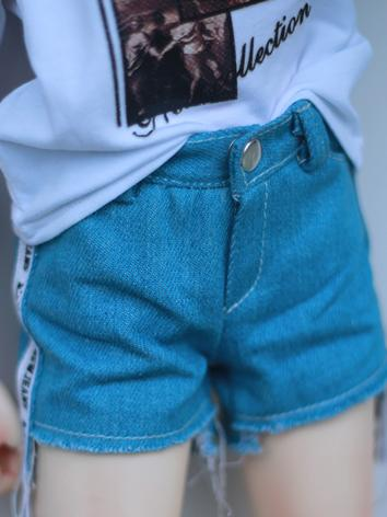 BJD Clothes Boy Blue Jeans ...