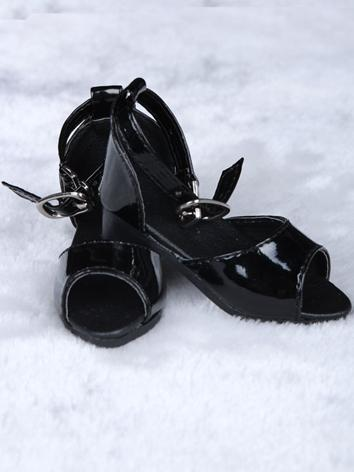 Bjd Shoes Black Highheels S...