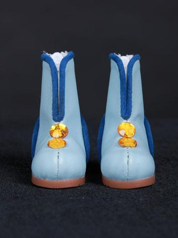 Bjd Shoes Blue Boots for YO...