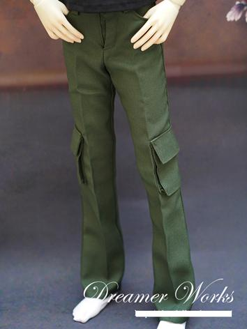 BJD Clothes Green Trousers ...