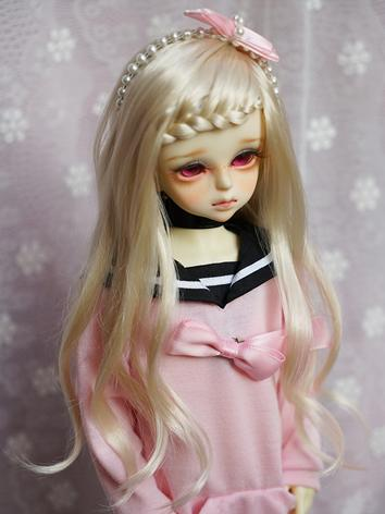 BJD Wig 1/3 1/4 Female Ligh...