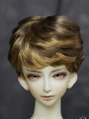 BJD 1/3 1/4 1/6 Wig Brown Short Hair for SD/MSD/YOSD Size Doll Ball-jointed doll