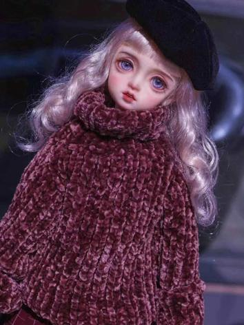 BJD Boy Clothes Wine Sweate...