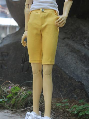 BJD Clothes Yellow Shorts T...